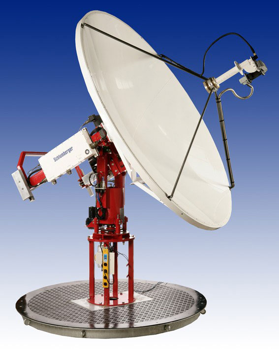 CBand Terminals SeaTel Schlumberger Spacetrack C - Space track